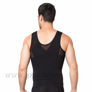 Mens Body Shaper/Mens Slimming Body Shaper Vest pictures & photos