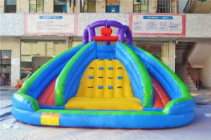 Orange Splash Island Inflatable Water Slide (CHSL343) pictures & photos
