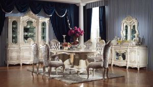 Classical MDF Diningroom Furniture pictures & photos