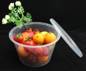 25oz Round Clear Disposable Food Container pictures & photos
