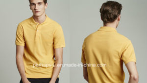 Cotton Pique Mens Polo Shirt pictures & photos