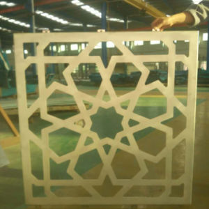 Flower Pattern Design Carved Aluminum Panel/ Perforated Aluminum Panel pictures & photos
