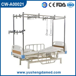 Multi-Functional Folded Orthopedics Traction Hospital Therapy Bed Cw-A00021 pictures & photos
