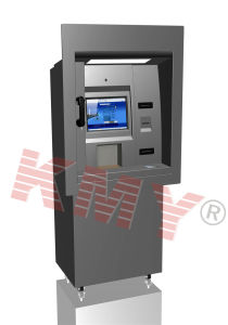 Through Wall Banking Used ATM Kiosk with Bill Acceptor pictures & photos