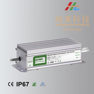 80W 12V 24V IP67 Waterproof LED Driver pictures & photos