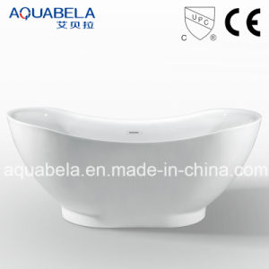 Cupc Approved Acrylic Freestanding Jacuzzi Shower Cabinet Bath Tub pictures & photos