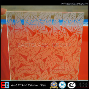 Clear Acid Etched Glass/Frosted Glass/Tinted Acid Etched Glass/ (AD49) pictures & photos