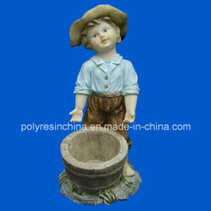 Resin Planter for Garden Decoration Crafts pictures & photos