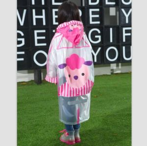 Cow Girl Waterproof Rain Coat for Kids