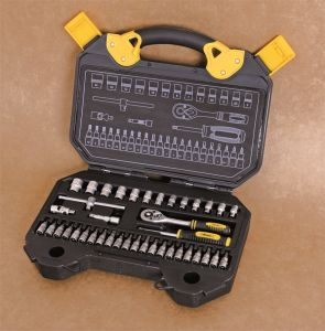 "40PCS Professional Maintenance Cr-V Matte Finished 1/4"" Drive Socket Set pictures & photos"