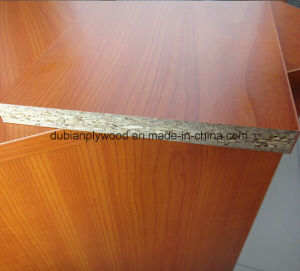 Hot Sale 12-18mm Melamine Faced Particle Board pictures & photos