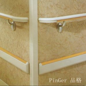 PVC Cover Aluminum Wall Corner Guard pictures & photos