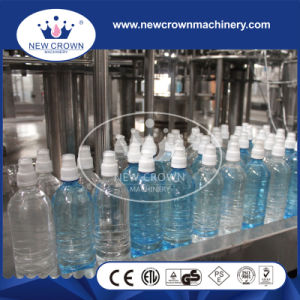 Double Cap System Water Bottle Filling Machine with Air Purification System pictures & photos