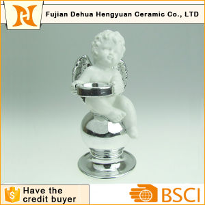 Ceramic Angel Candle Holder for Christams Decoration pictures & photos