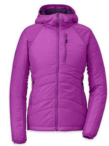 Outdoor Women Padded Hoody Jacket in Pink Colour pictures & photos