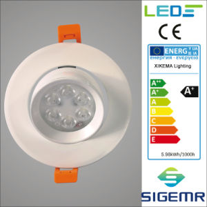 Embeded LED Adjustable Downlight 9W pictures & photos