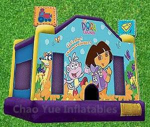 Commercial Grade Dora Inflatable Jumping Bouncy Castle for Amusement Park pictures & photos