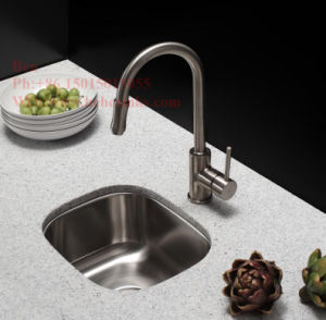 Steel Bar Sink, Stainless Steel Single Bowl Bar Kitchen Sink pictures & photos