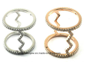 Hot Sale & Newest Design Fashion 925 Silver Ring (A2R090) pictures & photos