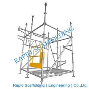 Ringlock Construction Steel Tower Scaffolding HDG pictures & photos