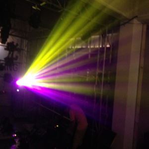 300W Stage Double Moving Head Beam Light (HL-300BM) pictures & photos
