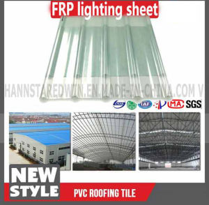 Transparent Trapezoidal Thick Glass Fiber Reinforced Plastic Sheet pictures & photos