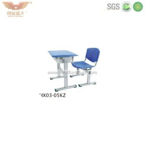 Popular Student Study Desk with Chair (HX02-06KZ) pictures & photos