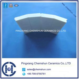 Chemshun Alumina Ceramic Pipe Liner for Bends and Pipe Fittings pictures & photos