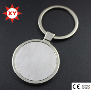 Factory Direct Sell Nickel Round Blank Keychain pictures & photos