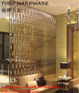 Metal / Stainless Steel / Copper Divider Screens for Living Room (WY-8612)
