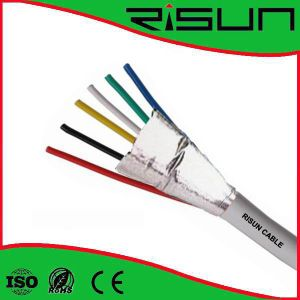 Shielded 6cores Alarm Cable with Frpvc Insulation and Frpvc Jaket pictures & photos