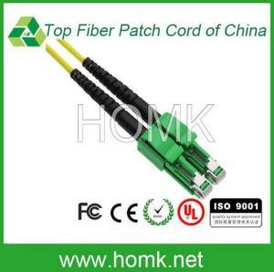 Lx. 5/APC Singlemode Duplex Fiber Optic Patch Cord pictures & photos