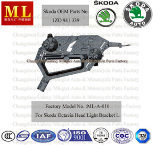 Left Headlight Bracket, Base, Support, Cover for Skoda Octavia (OEM Parts No.: 1Z0 941 339) pictures & photos