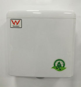 Watermark Approval Bathroom Sanitary Ware Plastic Water Tank for Squatting Pan (G21026) pictures & photos