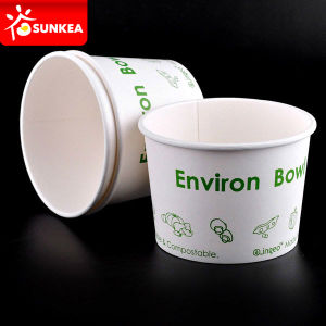 Custom Logo Printed 16oz PLA Soup Cups pictures & photos