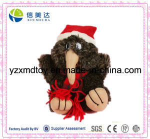 Christmas Plush Kiwi Bird Soft Toy with Hat and Scarf pictures & photos