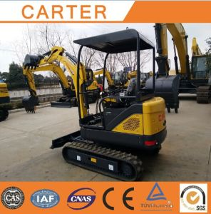 CT18-9d (1.8T&0.04M3 bucket) Hydraulic Crawler Mini Excavator pictures & photos
