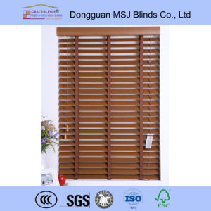 High Quality Window Venetian Horizontal Window PVC Blinds Fauxwood Blinds pictures & photos