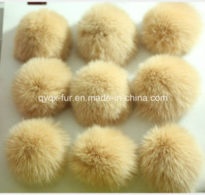 2015 Fluffy and Soft Fox Fur POM Poms Qyqx-237 pictures & photos