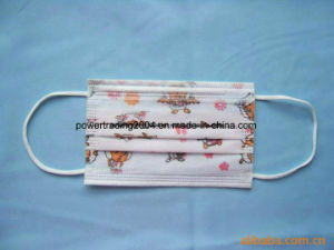Surgical Nonwoven Mask for Single Use for Japan 3 pictures & photos
