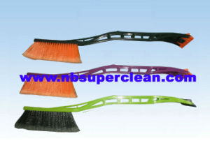 New Design Soft Car Snow Brush Ice Scraper, Long Handle Soft Bristle Winter Brush (CN2282) pictures & photos