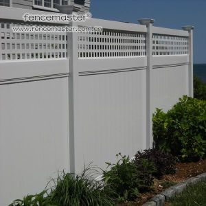 Privacy Vinyl Fence for North America pictures & photos