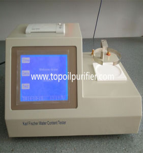 Top Karl Fischer Coulometric Oil Moisture Analyzer (Series Tp-2100) pictures & photos