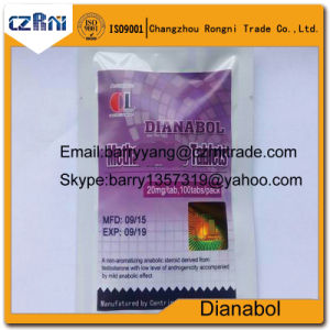 High Quality USP Standard Meth CAS No: 72-63-9 Dianabol/Dbol Pills 10mg and 20mg pictures & photos