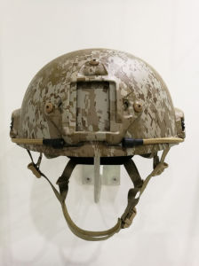 Ballistic/Bulletproof Fast Helmet with Side and Rails Under Water Transfer Process pictures & photos