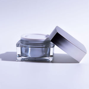 15g/30g/50g Acrylic Square Cream Jar (EF-J11) pictures & photos