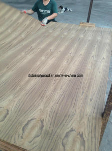 Engineered Wood Recon Teak Veneer Plywood for Furniture pictures & photos