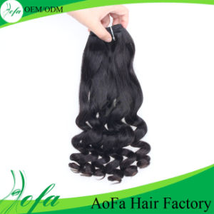 Loose Wave Brazilian Human Virgin Hair Wig pictures & photos