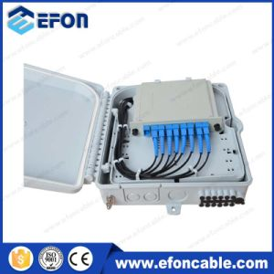 Gpon Cassette Splitter Lgx Optical Fiber Cable Bending Distribute Boxes (FDB-08H) pictures & photos