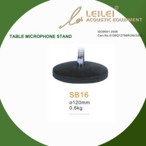 Ajustable Table Microphone Stand Base (SB16) pictures & photos